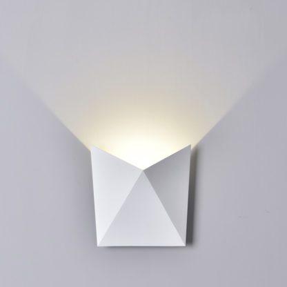 LED απλίκα 5W αρχιτεκτονικού φωτισμού 3000K Θερμό λευκό Λευκό σώμα 8280