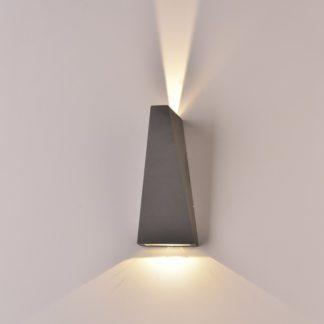 LED απλίκα 6W αρχιτεκτονικού φωτισμού 3000K Θερμό λευκό Γκρι σώμα 8299