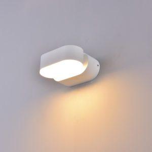 LED απλίκα 6W αρχιτεκτονικού φωτισμού 4000K Φυσικό λευκό Λευκό σώμα περιστρεφόμενο 8287