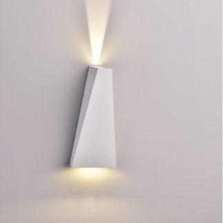 LED απλίκα 6W αρχιτεκτονικού φωτισμού 4000K Φυσικό λευκό Λευκό σώμα 8296