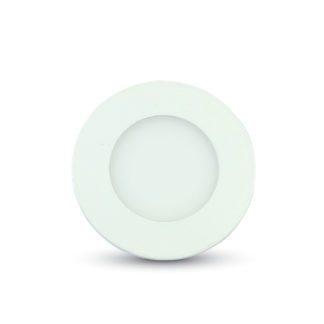 LED panel χωνευτό 3W 6400K Λευκό Στρογγυλό vtac 6294