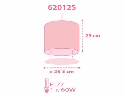 Sweet Dreams Pink φωτιστικό οροφής κρεμαστό 62012 S 3