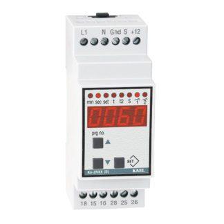 Xρονικό (timer) ράγας KAEL Κe-ΖRΧΧ (D) πολυχρονικό 24V AC-DC 230V 2 ρελέ 19 λειτουργίες 309-001113565