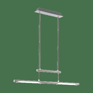 Κρεμαστό Φωτιστικό LED Σε Νίκελ & Λευκό Χρώμα Flagranera 97062