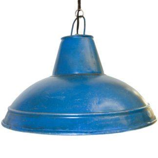 Φωτιστικό Κρεμαστό Μονόφωτο Φ40 Μπλέ Waddeton 49733