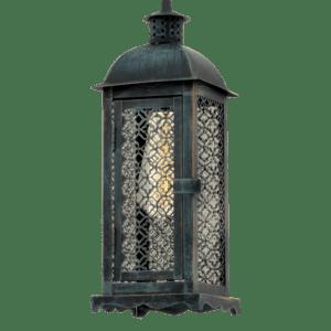 Φωτιστικό vintage σε πατίνα πράσινο Lisburn1 49215 2