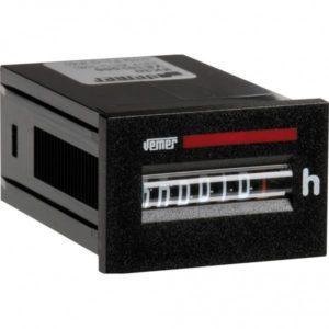Ωρομετρητής πόρτας πίνακα VEMER HM30-1236 12-36VDC 36x24mm 308-001164000