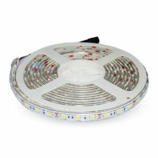 Tαινία LED DC12V SMD5050 4.8W m IP65 3000K Θερμό λευκό VTAC 2145