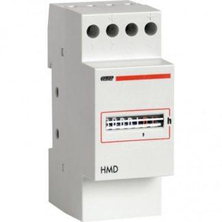 Ωρομετρητής ράγας VEMER HMD-024 24VAC 2module ανάλυση 1/100h 308-001160800
