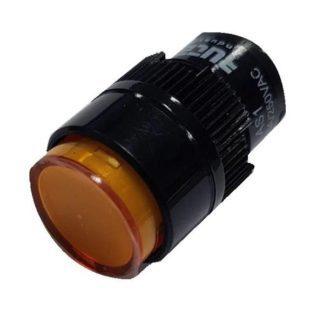 ΕΝΔΕΙΚΤΙΚΗ ΛΥΧΝΙΑ Φ16mm LED 230V ΚΙΤΡΙΝΗ LAS1Y-DO Κωδ 022-013230016