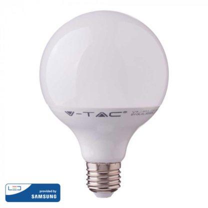 Λάμπα LED E27 G120 Samsung Chip SMD 17W Θερμό λευκό 3000K vtac 225