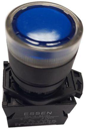 ΜΠΟΥΤΟΝ ΜΠΛΕ Φ22 LED SDL16-EWL3661 Κωδ 022-504540110