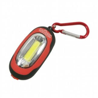 Φακός LED Μπρελόκ Με Γάντζο & Μαγνήτη 1W 2xCR2032 Universe KC064