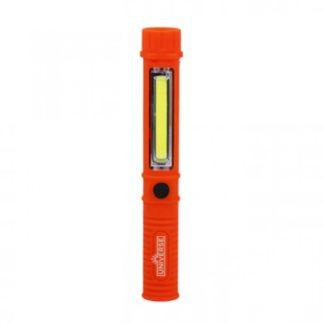 Φακός LED 3W+1W Κόκκινο Σε Στυλ Στυλό Με Κλιπ & Μαγνήτη 2xAA Universe WL099