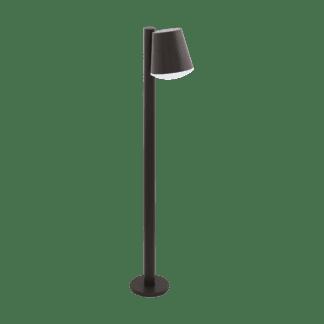 Φωτιστικό Κολωνάκι Σε Ανθρακί & Λευκό Χρώμα Caldiero-C 97483