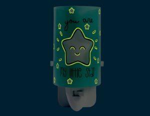 My Little Star Green φωτιστικό νύκτας πρίζας LED [92842] 3