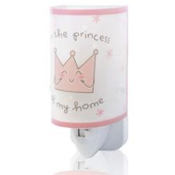 Princess φωτιστικό νύκτας πρίζας LED [92831]