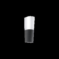 Απλίκα Εξωτερικού Χώρου Led Ανθρακί & Λευκό Covale 96016