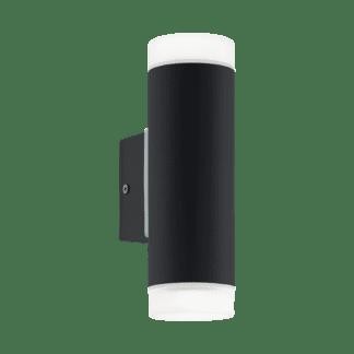 Απλίκα εξωτερικού χώρου μαύρη dimmable RIGA-LED 96505