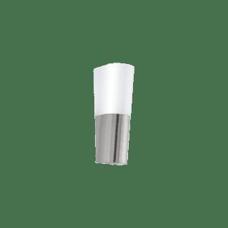 Απλίκα εξωτερικού χώρου σε ασημί & λευκό COVALE 96015