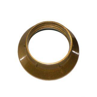 Ντουί βακελίτου EL290807 χρυσό Ε14 με μεταλλικό σπείρωμα M10x1 & 2 ροδέλες 2