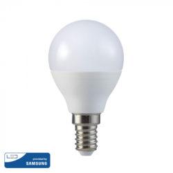 Λάμπα LED E27 P45 Samsung Chip SMD 5.5W Θερμό λευκό 3000K vtac 168