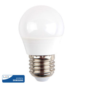 Λάμπα LED E27 G45 Samsung Chip SMD 5.5W Φυσικό λευκό 4000K vtac 175