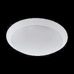 Απλίκα-πλαφονιέρα εξωτερικού χώρου στρογγυλή Ø30cm σε λευκό PILONE 97254