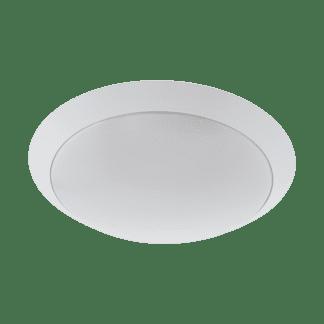 Απλίκα/πλαφονιέρα εξωτερικού χώρου στρογγυλή Ø30cm σε λευκό PILONE 97254