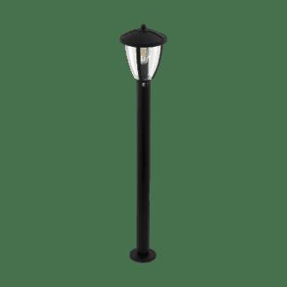 Φωτιστικό κολωνάκι εξωτερικού χώρου Υ1m σε μαύρο COMUNERO 2 97338