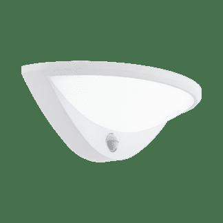 Απλίκα εξωτερικού χώρου με αισθητήρα σε λευκό χρώμα BELCREDA 97311