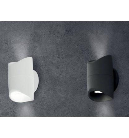 Απλίκα εξωτερικού χώρου σε λευκό χρώμα ABRANTES 95075 3