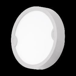 Απλίκα-πλαφονιέρα εξωτερικού χώρου στρόγγυλη σε λευκό χρώμα ALFENA-R 95083