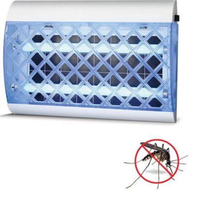 Ηλεκτρικό εντομοκτόνο με κόλλα 35W 51x13.2x35.5 πλαστικό σε μπλε-λευκό χρώμα 147-46060 2
