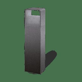 Φωτιστικό κολωνάκι εξωτερικού χώρου σε ανθρακί χρώμα Υ40cm DONINNI 96502