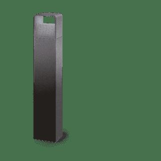 Φωτιστικό κολωνάκι εξωτερικού χώρου σε ανθρακί χρώμα Υ80cm DONINNI 96503