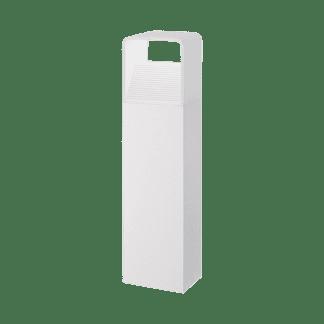 Φωτιστικό κολωνάκι εξωτερικού χώρου σε λευκό χρώμα Υ40cm DONINNI 96498