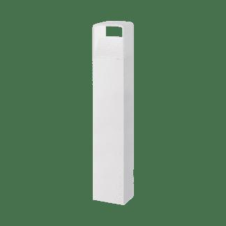Φωτιστικό κολωνάκι εξωτερικού χώρου σε λευκό χρώμα Υ80cm DONINNI 96499