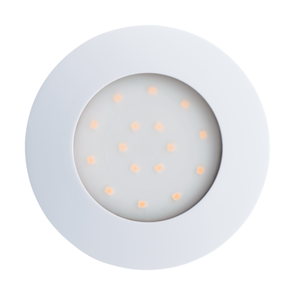 Χωνευτό σποτ εξωτερικού χώρου στρογγυλό λευκό Ø10,2cm PINEDA-IP 96416