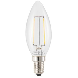 LED FILLAMENT DIMMABLE CLEAR GLASS ΚΕΡΙ B35-2 Ε14 2W 2700k 200lm Φ35x98 EL827351