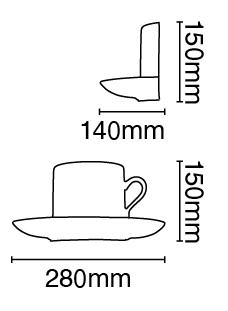 Απλίκα Γύψινη Λευκή Υ15cm VK 64174-231131 3
