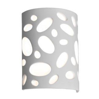 Απλίκα Γύψινη Λευκή Υ25,5cm VK 64174-232131