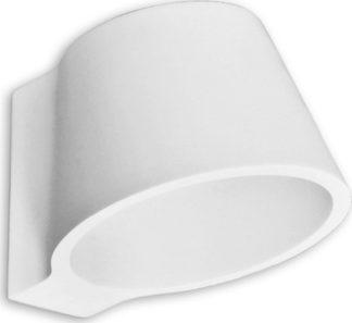 Απλίκα γύψινη σε λευκό με ντουί G9, VK64174-259131