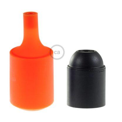 Σετ Ντουί Σιλικόνης Πορτοκαλί KSILICONLAMPARA 4