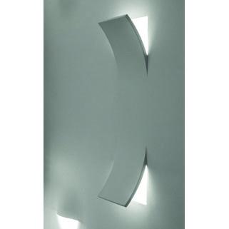 Φωτιστικό τοίχου γύψινο χωνευτό τετράγωνο λευκό, E14, VK 64174-239131 3