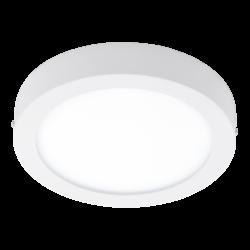 Πλαφονιέρα LED RGB 21W στρογγυλή Ø30cm, λευκό σώμα EGLO CONNECT FUEVA-C 96671