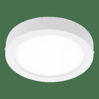 Πλαφονιέρα LED RGB 15.6W στρογγυλή Ø22,5cm, λευκό σώμα EGLO CONNECT FUEVA-C 96669