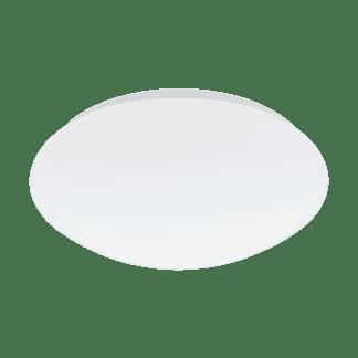 Φωτιστικό οροφής-τοίχου LED 18W 2700K-4000K, Ø30cm, σώμα λευκό GIRON-RW 97104