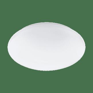 Φωτιστικό οροφής-τοίχου LED RGB 17W στρογγυλό Ø30cm, σώμα λευκό EGLO CONNECT GIRON-C 32589