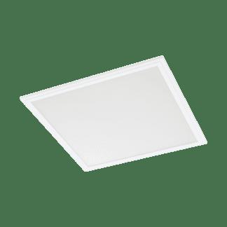 Φωτιστικό πάνελ LED 34W RGB λευκό σώμα, 59.5x59.5cm, με τηλεχειριστήριο EGLO SALOBRENA-C 96663